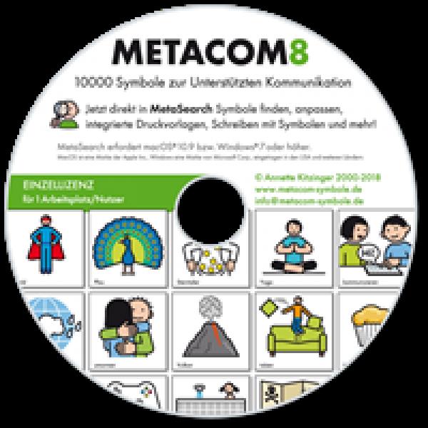 METACOM 8 CD Einzelplatzversion