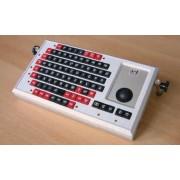 Dr.Seveke Minitastatur M42ro mit Kleintasten und angepasster RollkugelM42ro