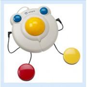 BIGtrack USB - Große Trackball-Maus mit Buchsen