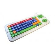 Clevy Tastatur II - Deutsch mit Großbuchstaben