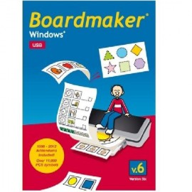 Boardmaker Win - USB-Version inkl. Addendum DE